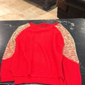 Tops - Bright red sweater